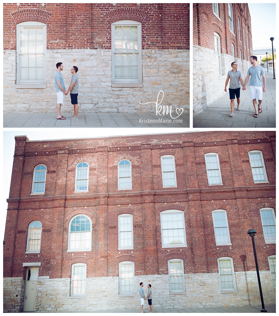 Indianapolis Engagement Session - GLBTQ