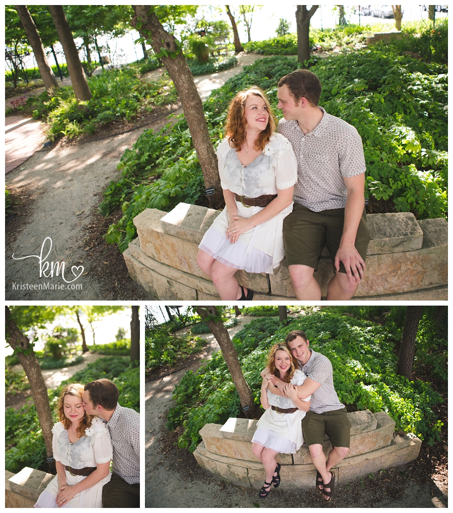 Engagement Photography at the Butterfly Garden at the Indianapolis Zoo