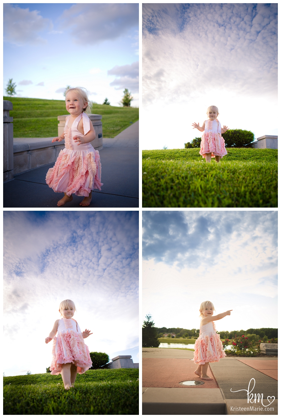 Payton in the clouds