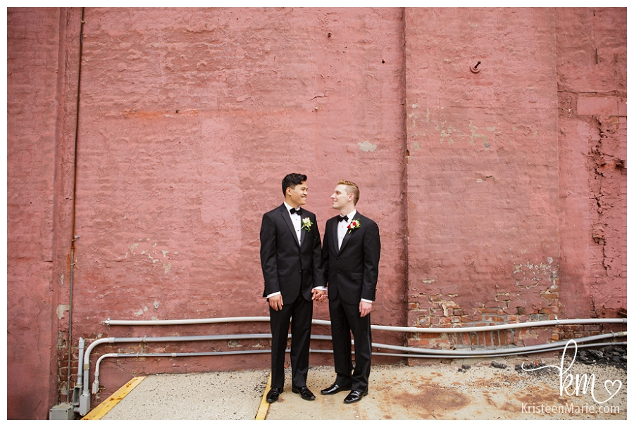 Indianapolis Same Sex Wedding Photographer