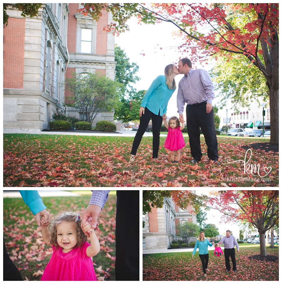 Noblesville fall family photography