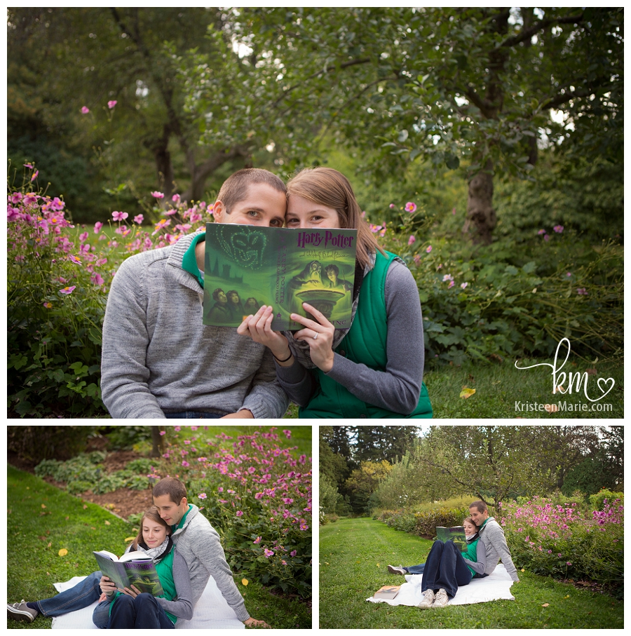 Harry Potter engagement picture