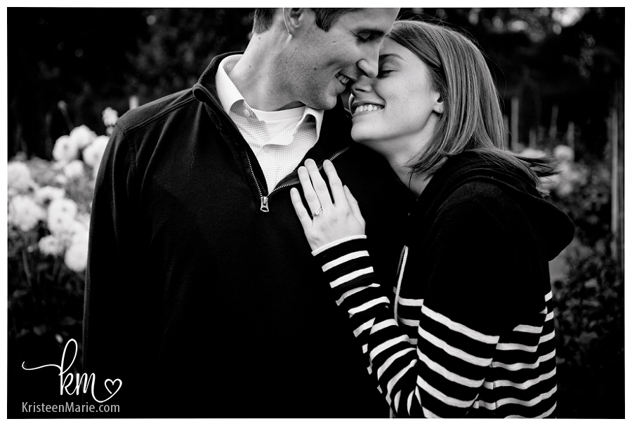 Indianapolis engagement picture