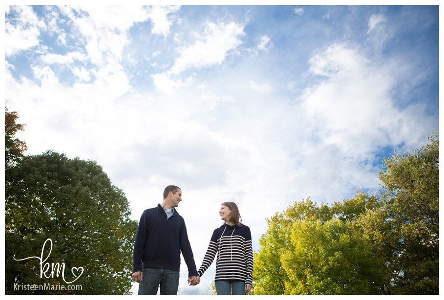 Indianapolis Museum of Art Engagement Picture