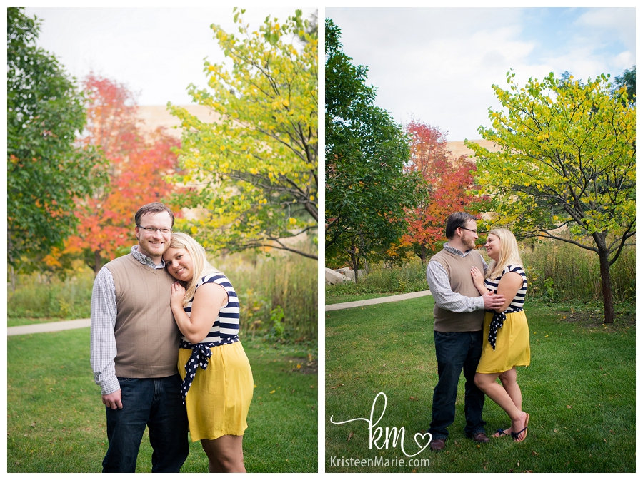 Fun Yellow Dress for Engagement Photography