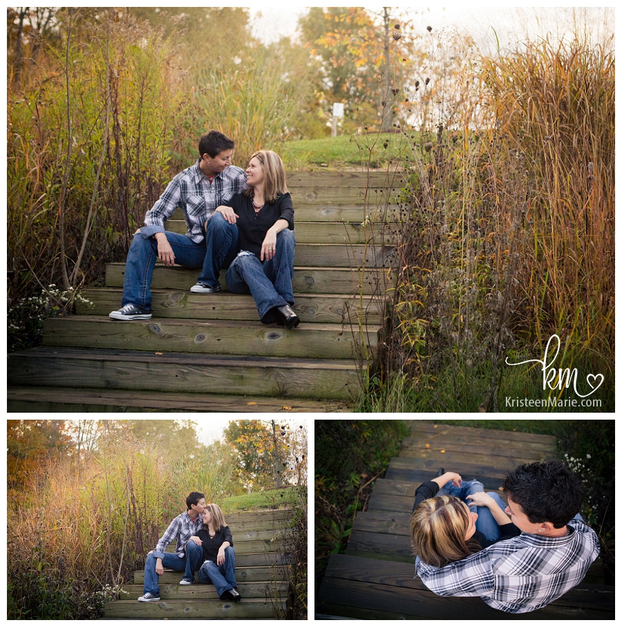 Lovely light for an engagement session