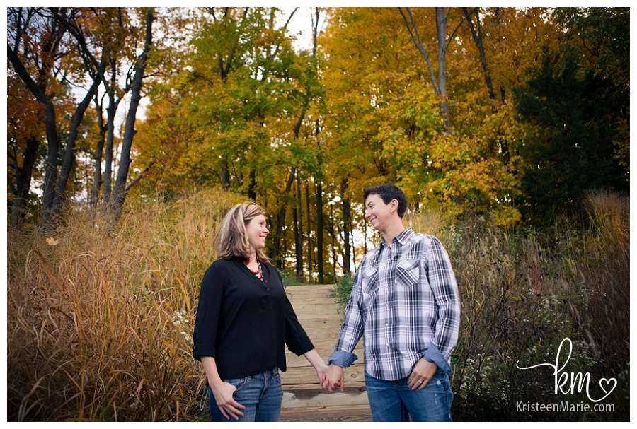 Same Sex Engagement Session in Indianapolis