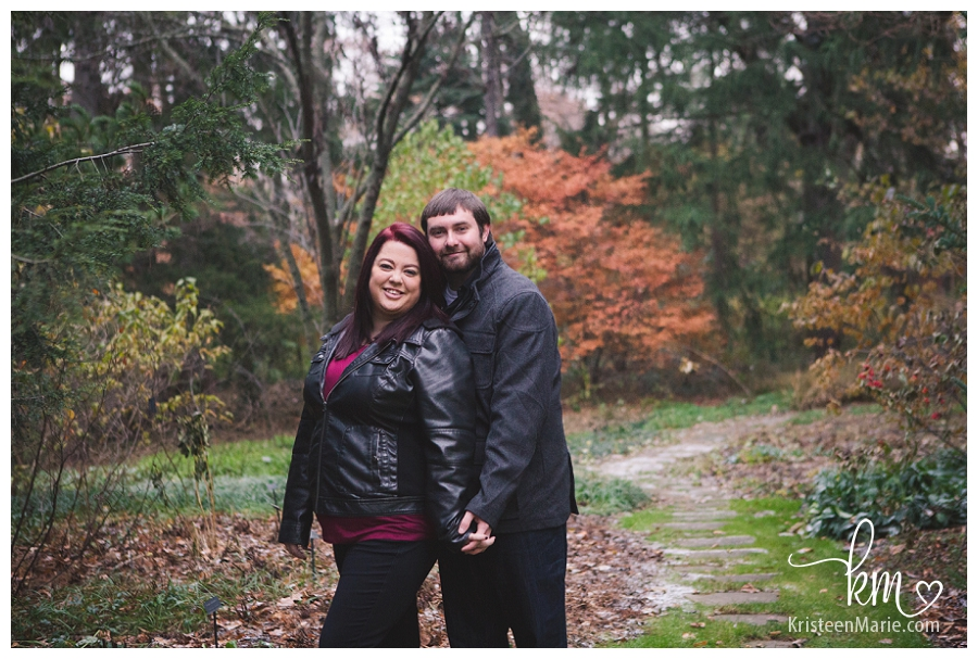 Engagement Photography Session at the Indianapolis Museum of Art IMA