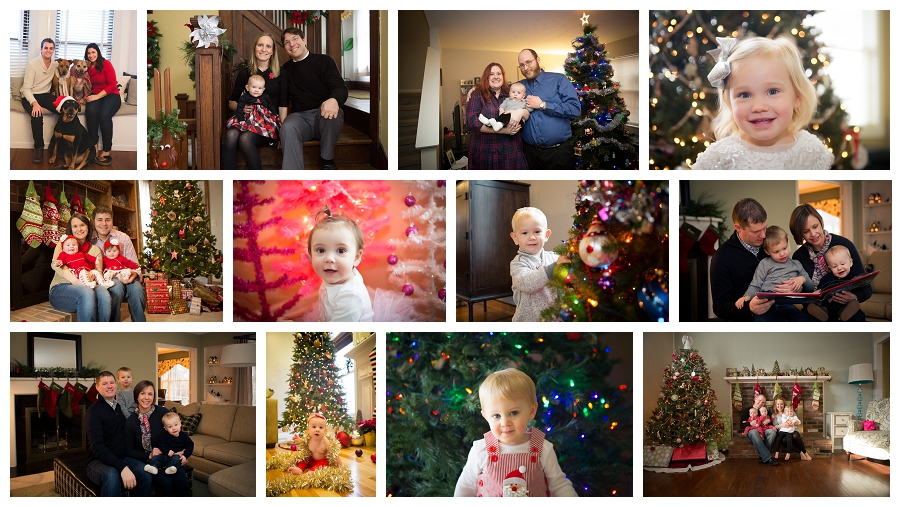 In-Home Holiday Mini Sessions