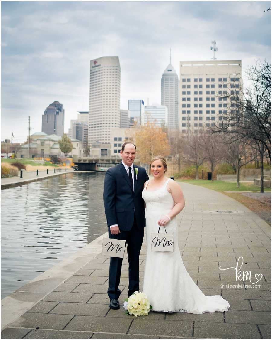 Downtown Indianapolis Wedding Photographer