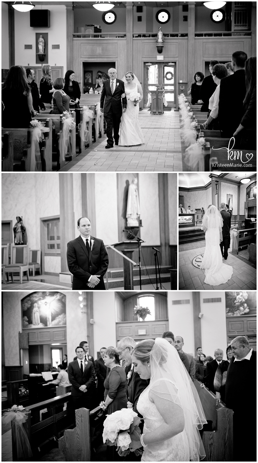 black and white wedding ceremony pictures