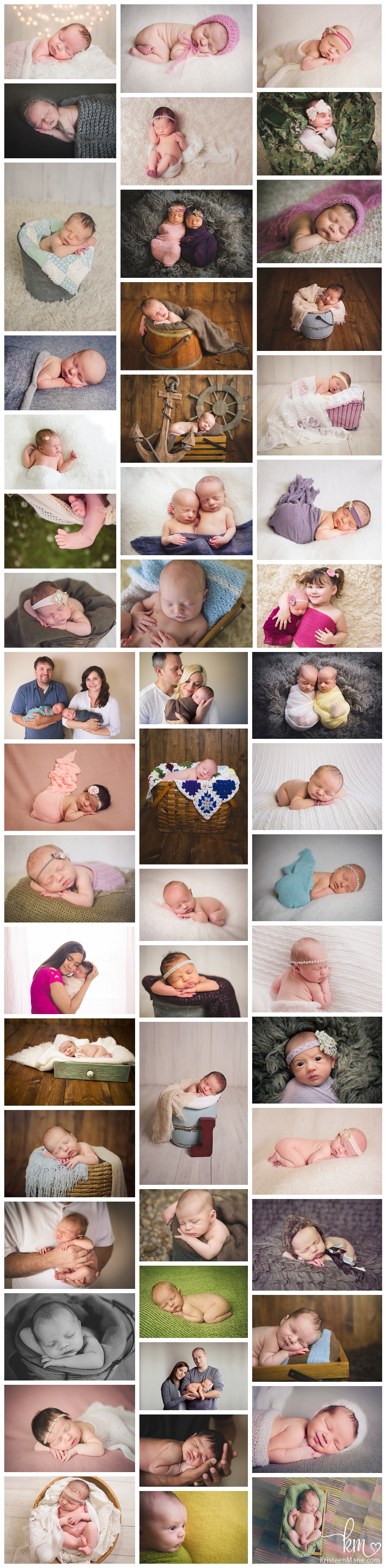 Indianapolis Newborn Photography by KristeenMarie Photography