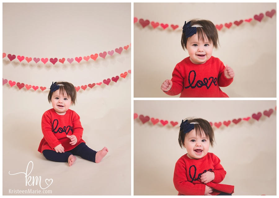 Valentines Day Child Photography Set-Up