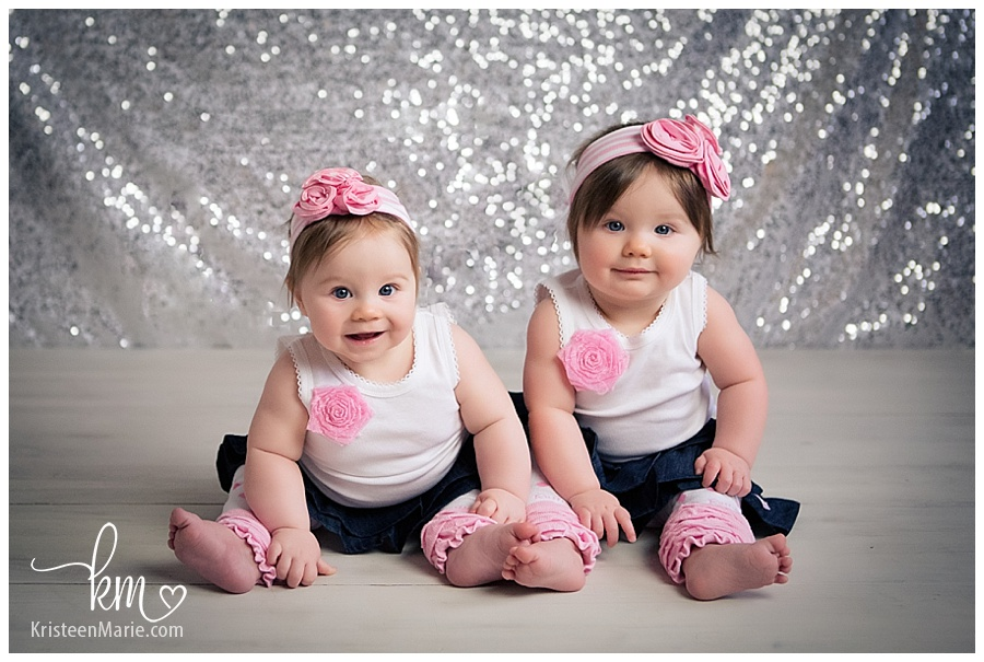 Twin Baby Girls