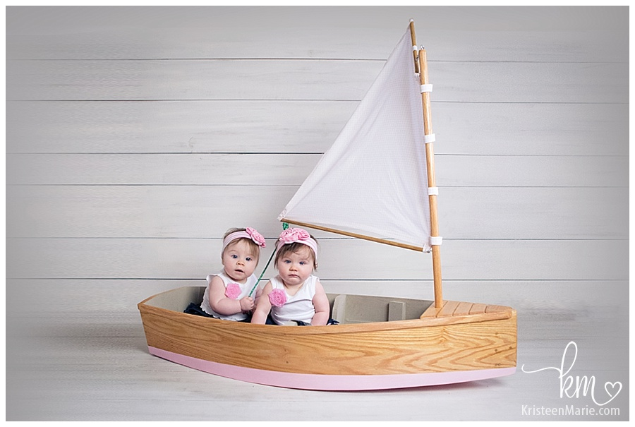 babies in a boat