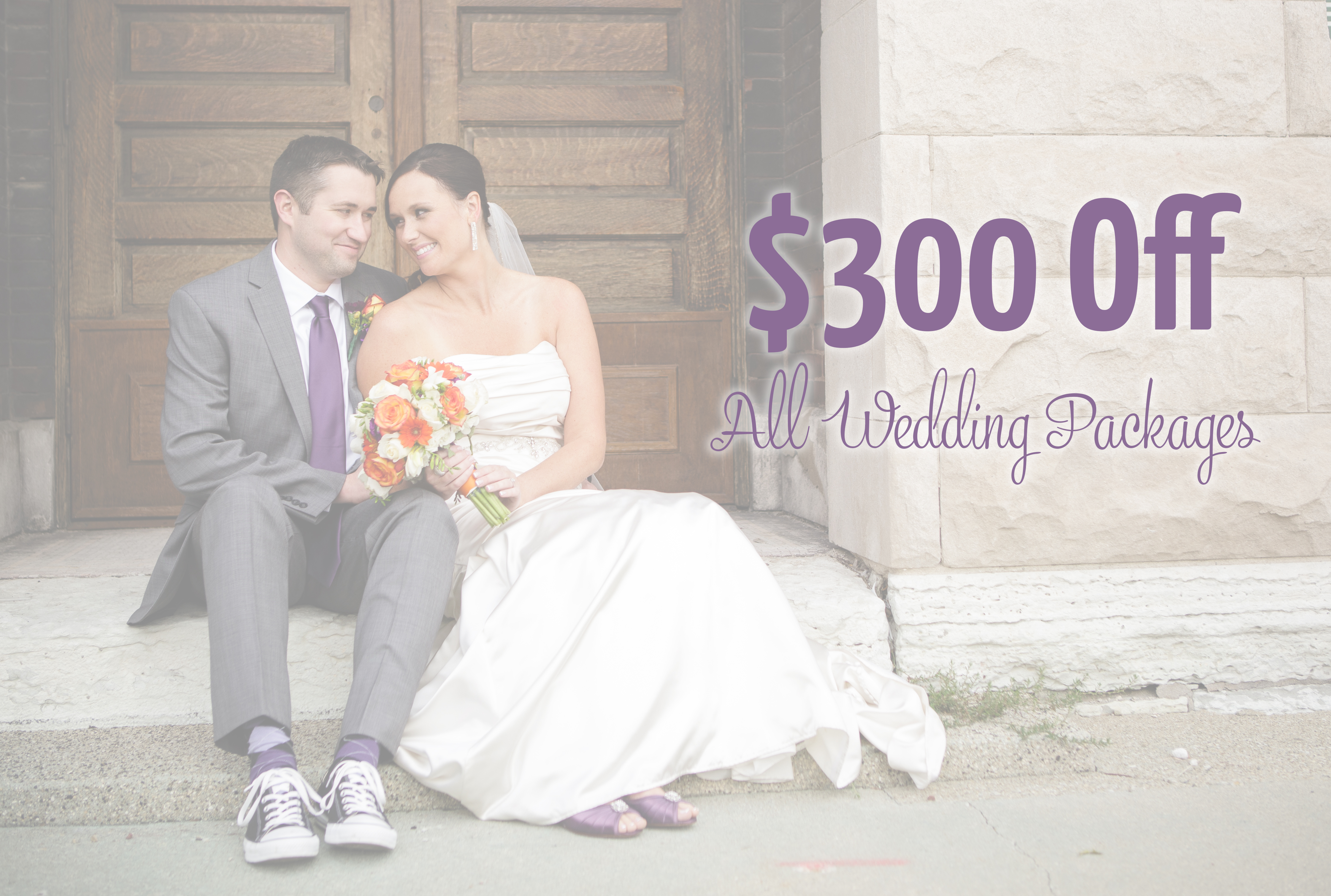 Indianapolis Wedding Photography Discount