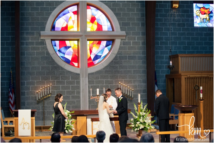 Carmel Lutheran Church wedding