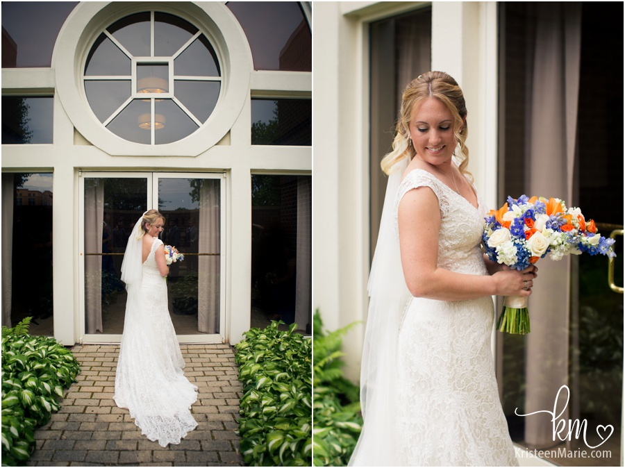 wedding photographer from Carmel, IN - the bride