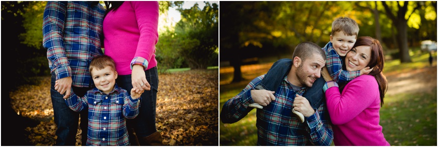 Adorable fall family pictures in Indianapolis