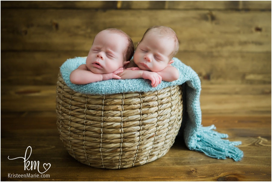 Carmel Indiana Twin Newborn Photographer