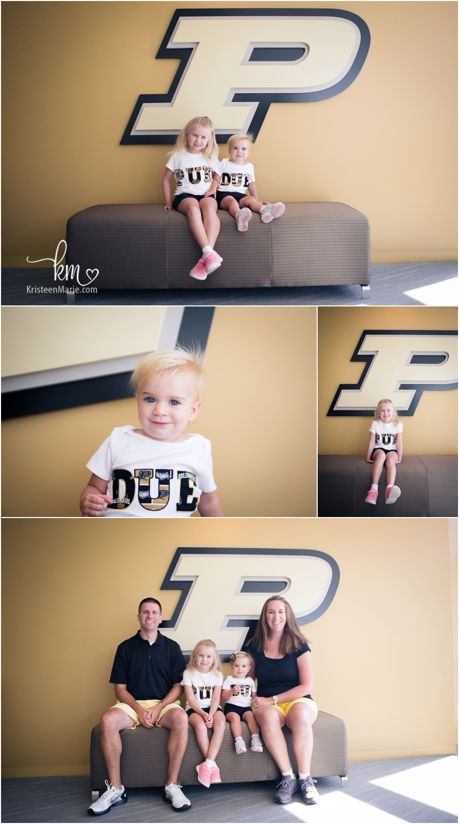 Purdue University family photography