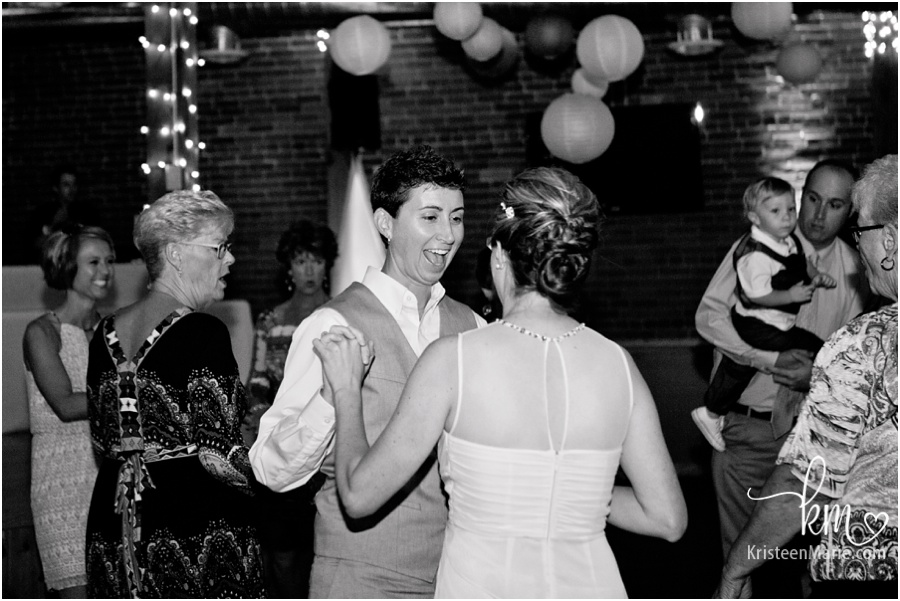 the first dance at wedding