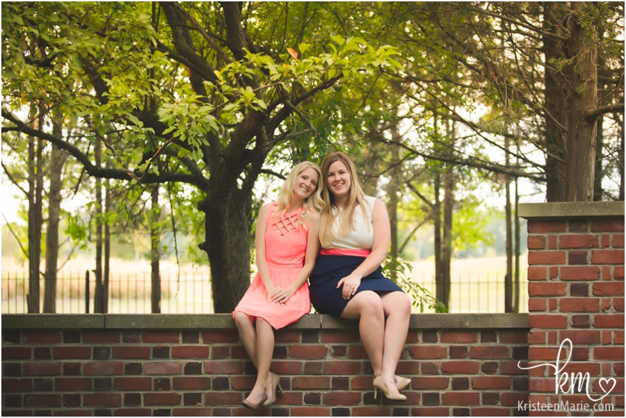 same sex engagement photography in Indianapolis, Indiana