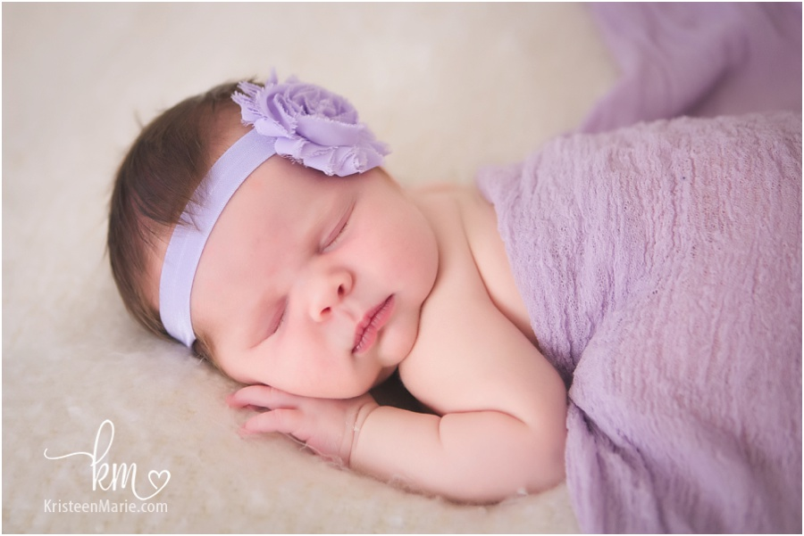 newborn girl from Noblesville