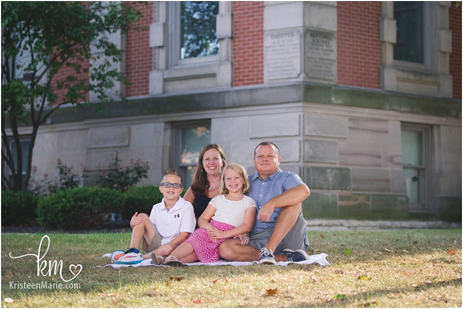 Downtown Noblesville Family Photography