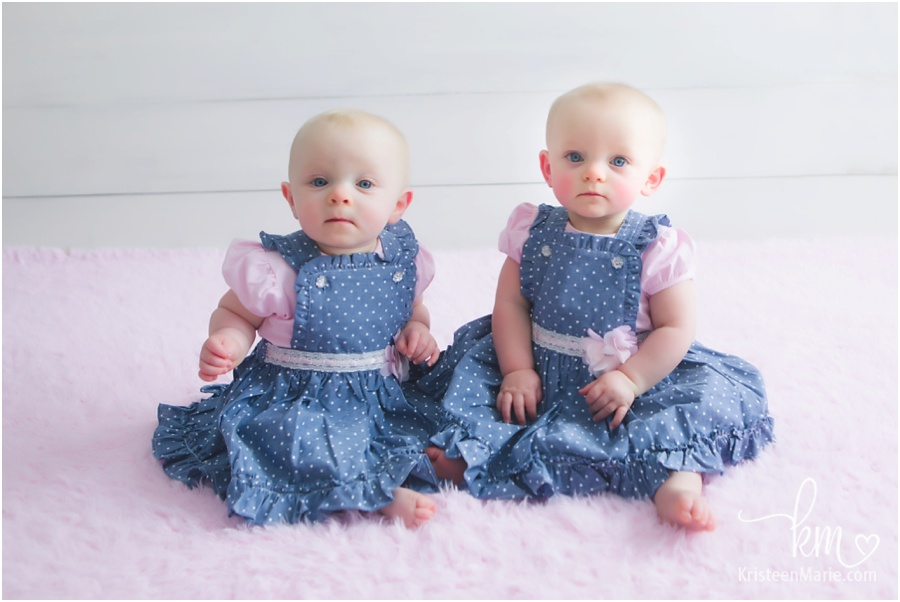The Johnson Twins 7 Months Old