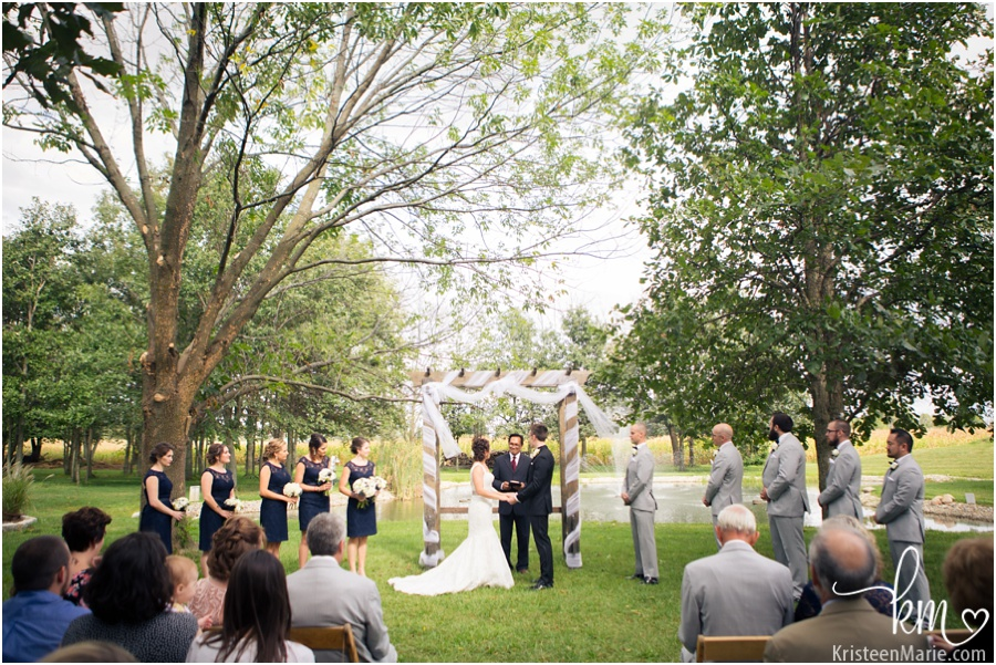 Morgan Acres Ceremony Outdoors