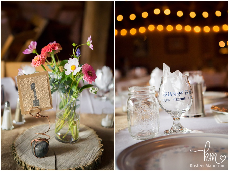 Guest wedding tables