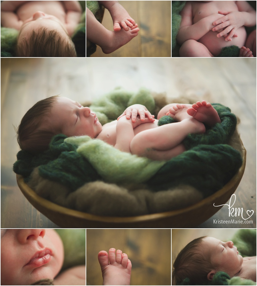 newborn baby features