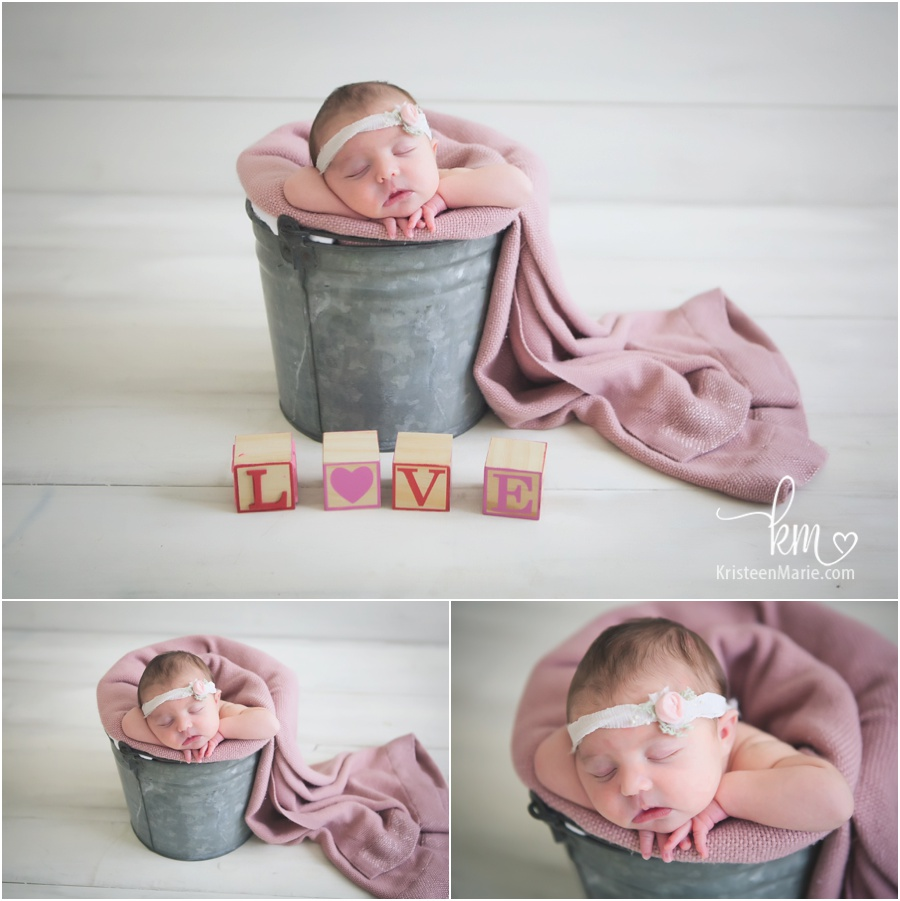 Five Day Old Baby Layla Brownsburg Newborn Photographer