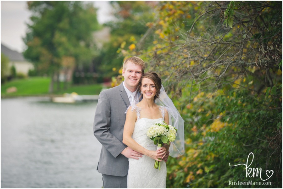 Indianapolis Yacht Club Wedding by the water