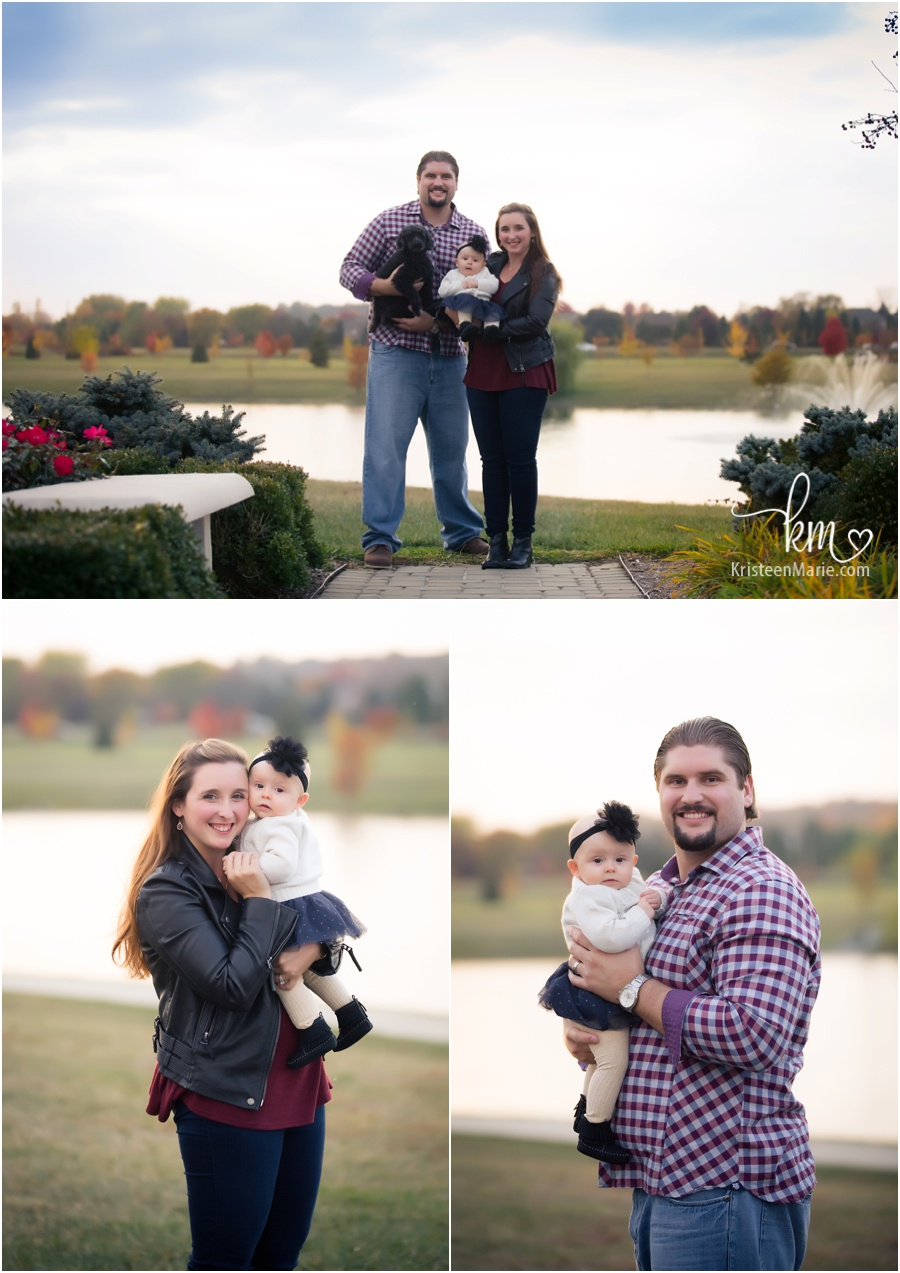Fall family photography session at Coxhall Gardens