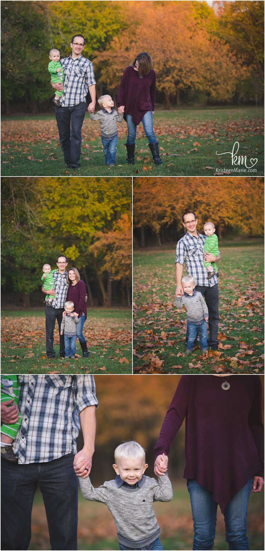Fishers family photography in the Fall