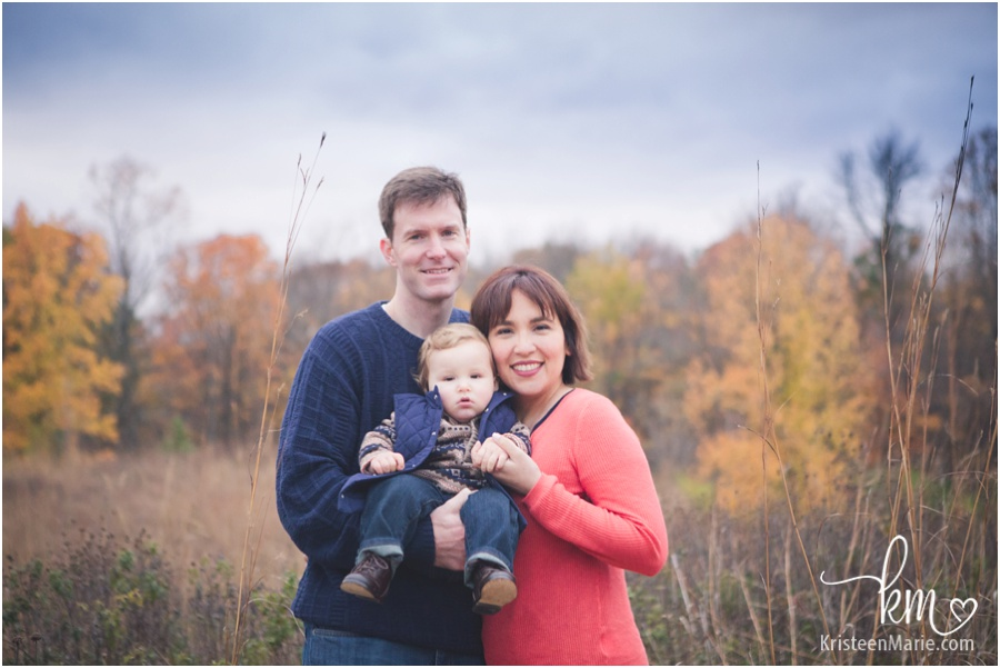 Fall family photography in Indianapolis