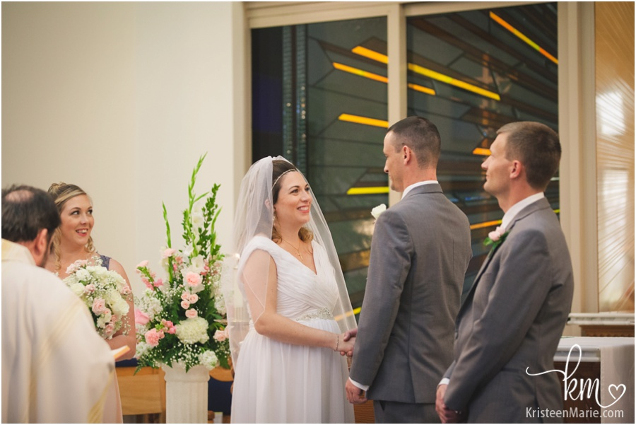 Wedding at St. Maria Goretti Catholic Church Chapel