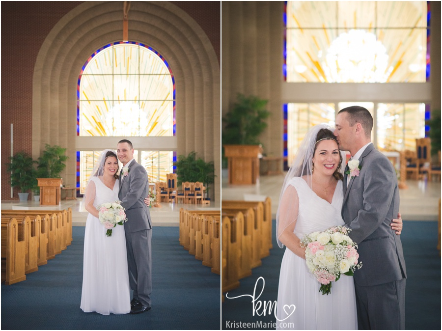 Wedding at St. Maria Goretti Catholic Church