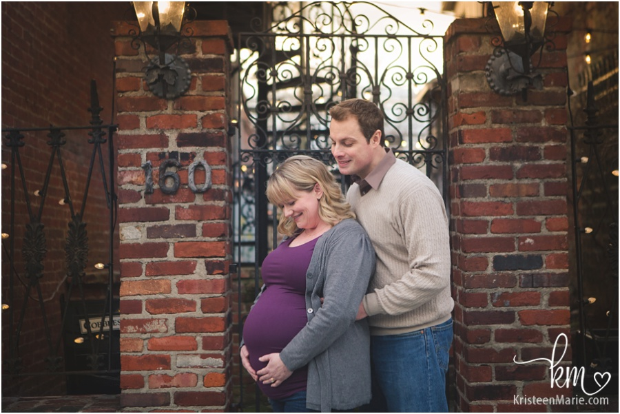 Indianapolis maternity photography by KristeenMarie