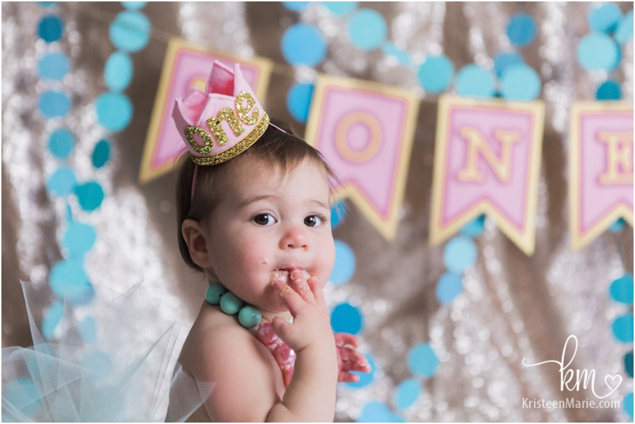 Indianapolis 1st birthday photography