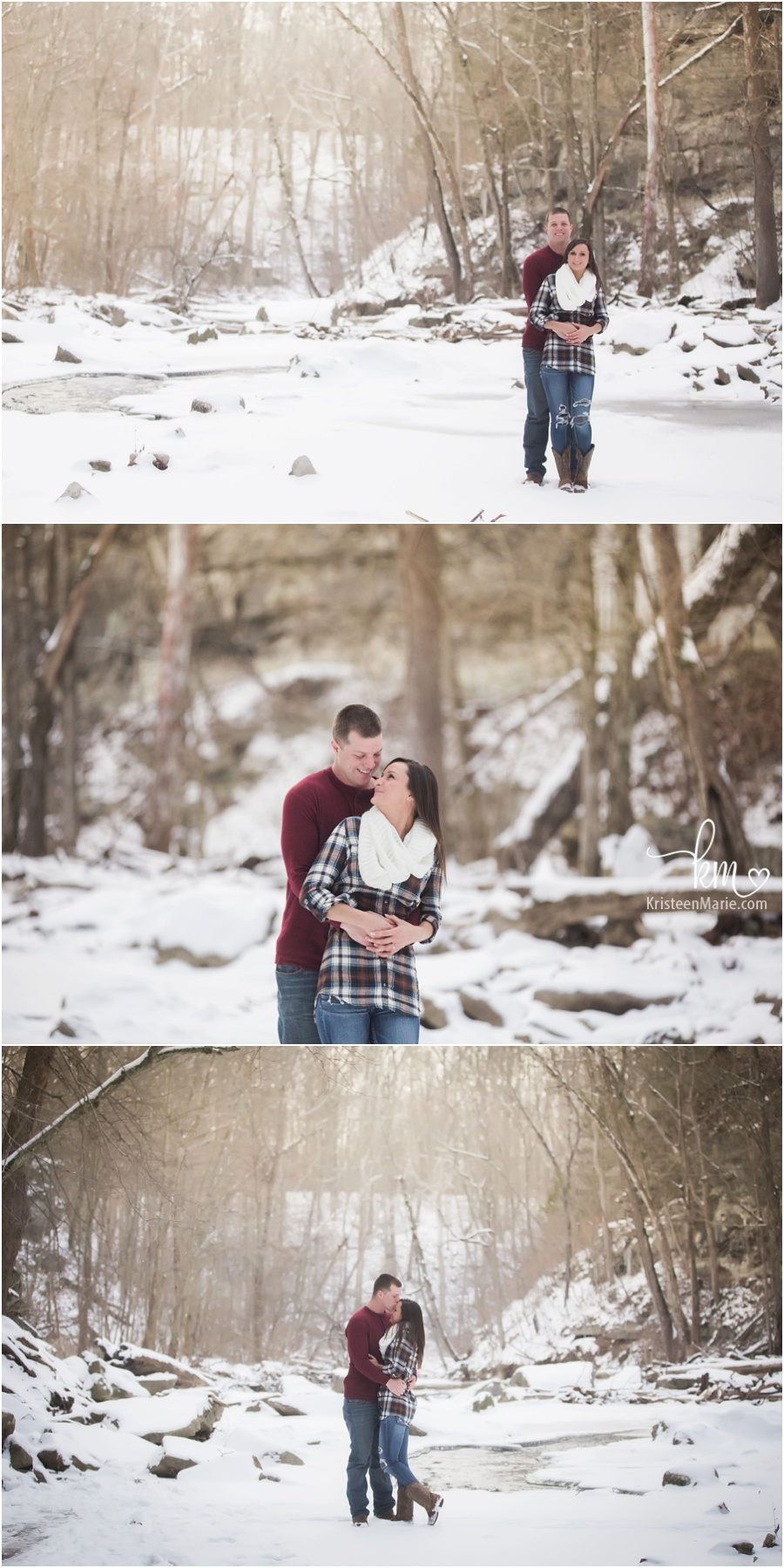 dreamy outdoor engagement photography photography