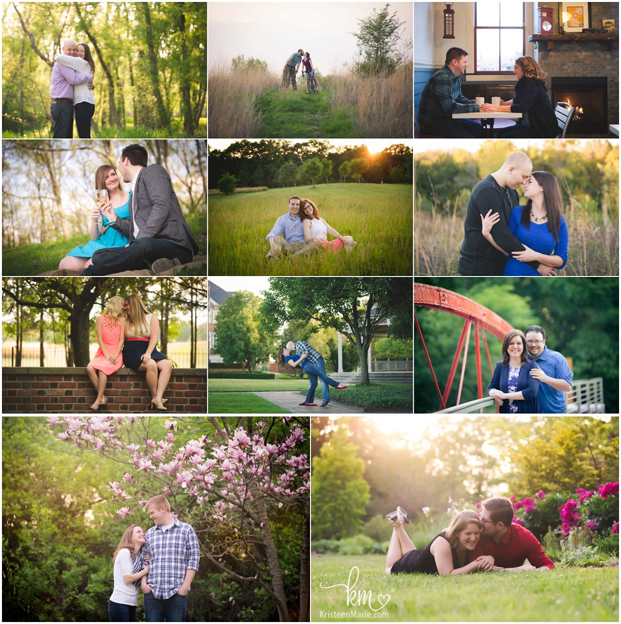 Indianapolis engagement photography