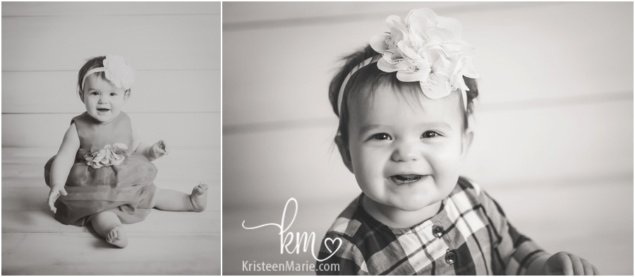 Zionsville child photography in black and white
