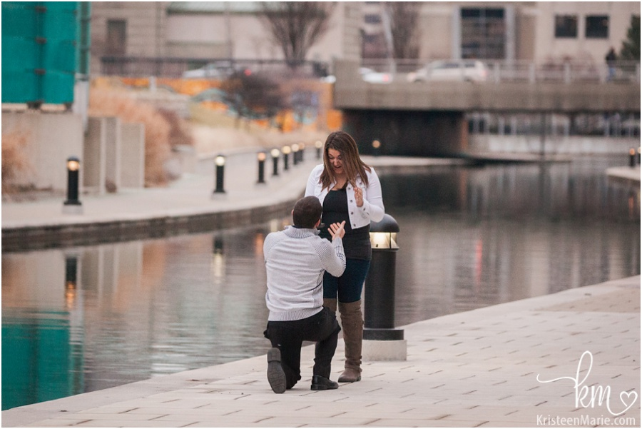 Canal proposal in Indianapolis, IN