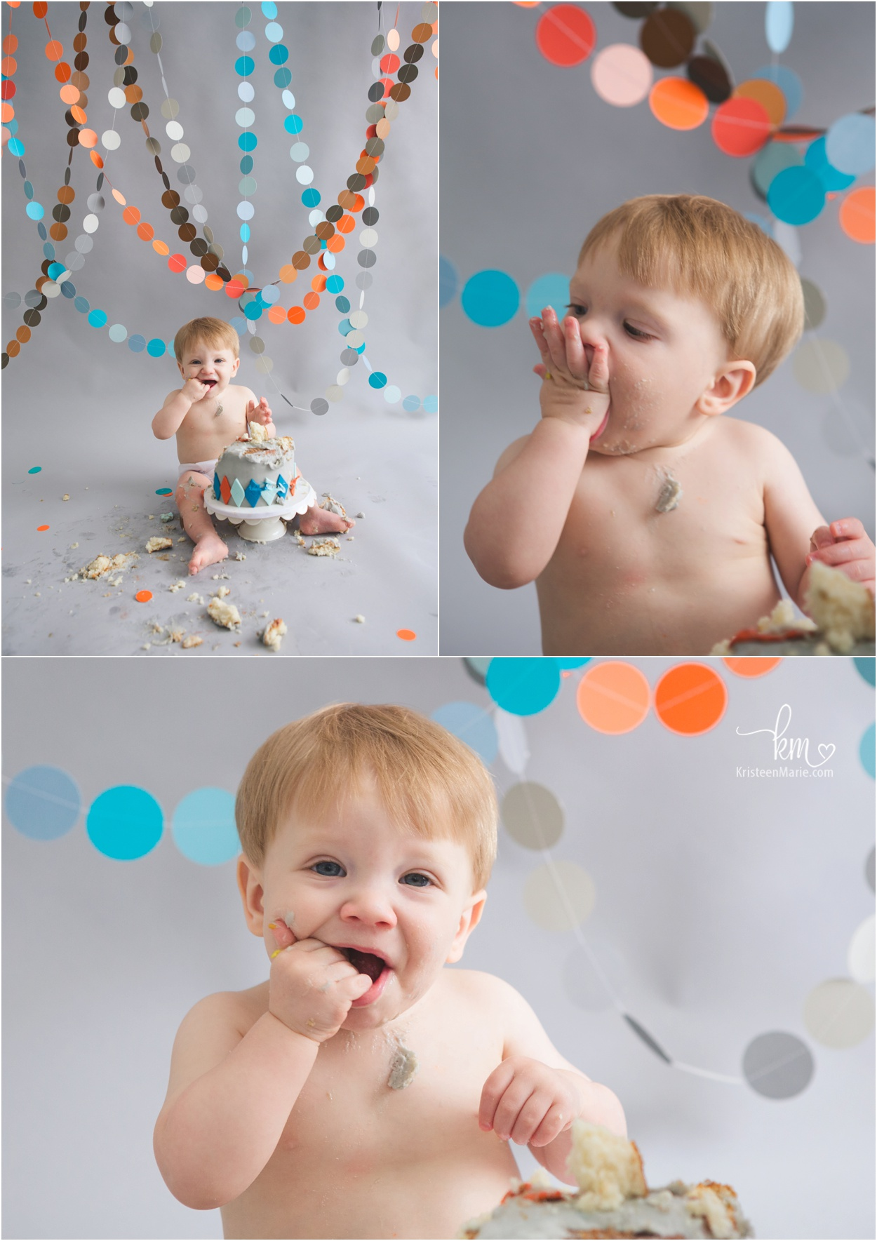 1st birthday cake smash pictures of boy