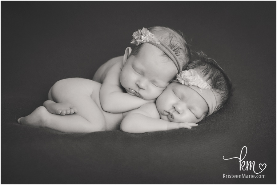 Indiana Twin Newborn Photographer