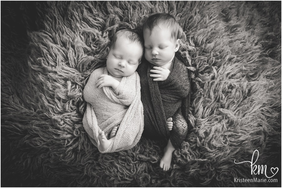 Zionsville Twin Newborn Photographer