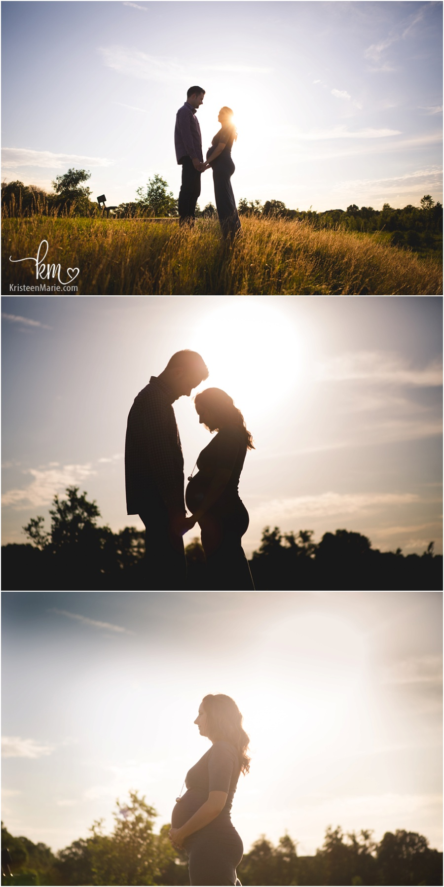 silhouette maternity pictures - Gorgeous!!
